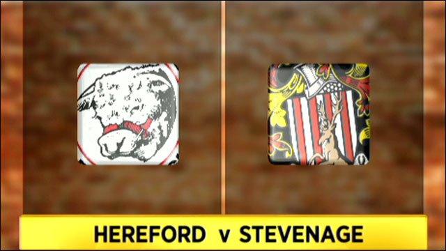 Hereford 1-4 Stevenage