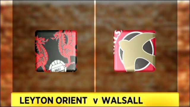 Leyton Orient v Walsall