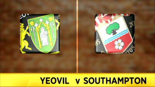 Yeovil v Southampton