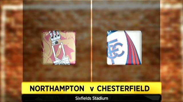 Northampton 1-2 Chesterfield