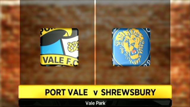 Port Vale 1-0 Shrewsbury