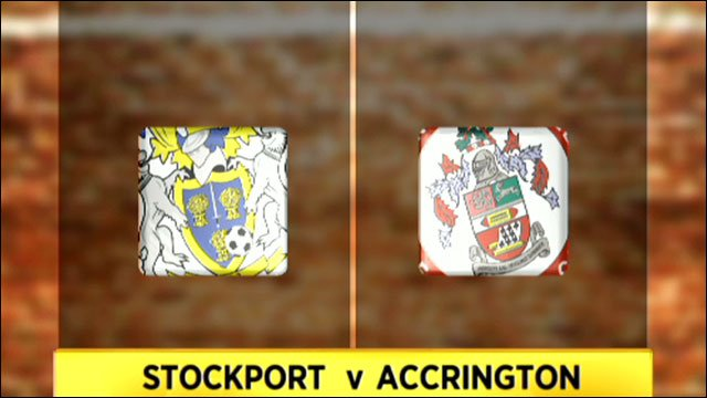 Stockport v Accrington