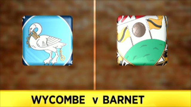 Wycombe v Barnet