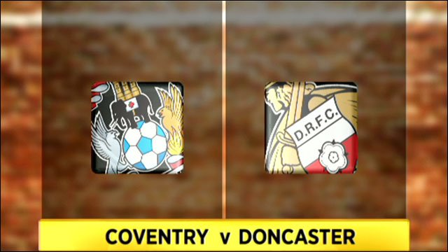 Coventry v Doncaster
