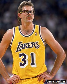 Kurt Rambis was a big fan favourite during his playing days with the Lakers