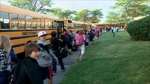 School children in Rhode Island
