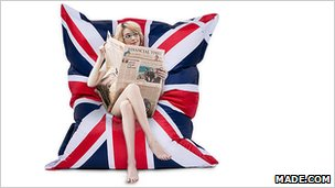 Union Jack Piggy Bag from Made.com