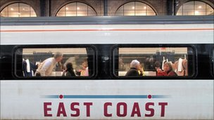 An East Coast train