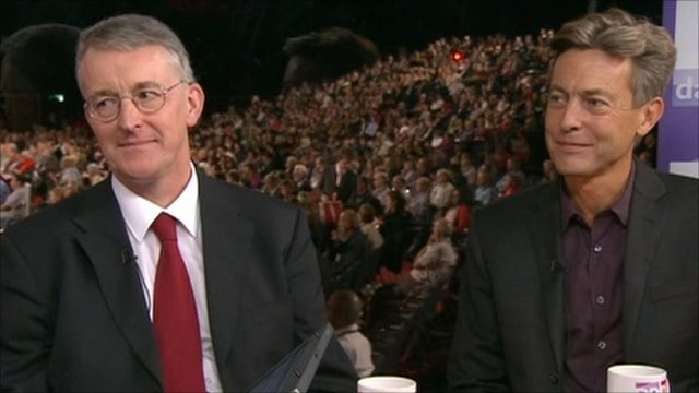 Hilary Benn and Ben Bradshaw
