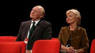 Neil and Glenys Kinnock