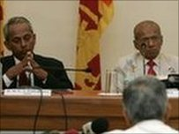 The panel consists of Sri Lankan lawyers and diplomats