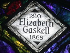 Elizabeth Gaskell window