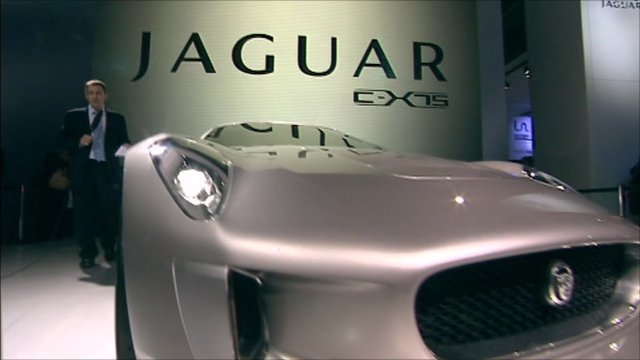 The New Jaguar C X75