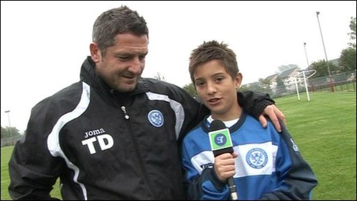 Jack gives Sportsround a special tour behind the scenes tour at St Johnstone.