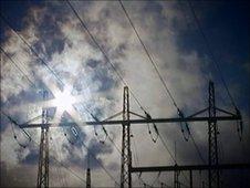 Electrocity pylons