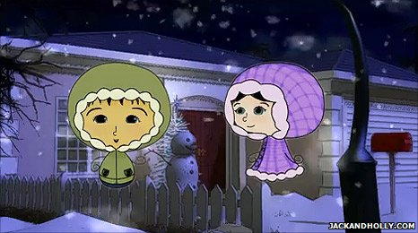Still from Jack and Holly's Christmas Countdown