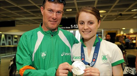 Ciara Mageean and Eamonn Christie