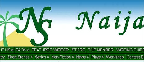 Naija Stories website banner © http://www.naijastories.com/