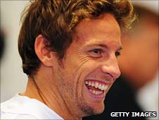 Reigning world champion Jenson Button