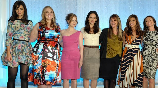 Some of the attendees of the Power of Women Hollywood celebration