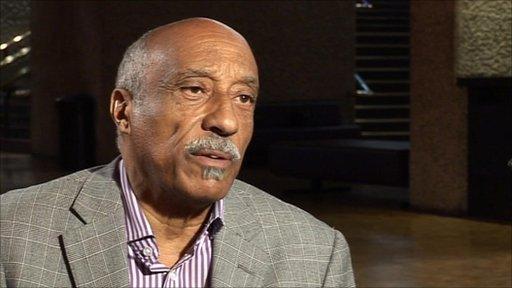 "The BBCs Peter Biles went to meet ""The Father of Ethiopian Jazz"", Mulatu Astatke"