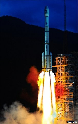 BBC News – China launches Moon mission
