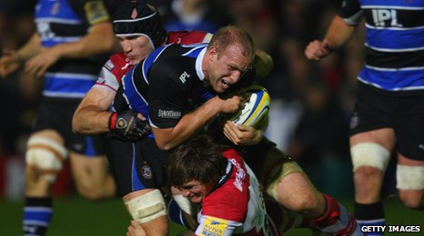 Gloucester defeat Bath