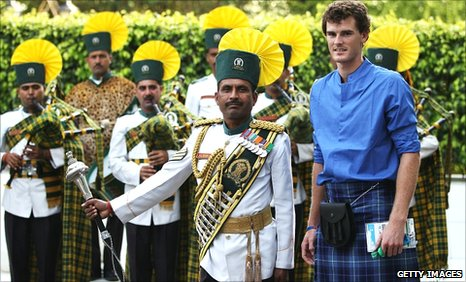 Jamie Murray at Team Scotland's welcome reception