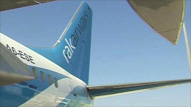 Rak Airways plane