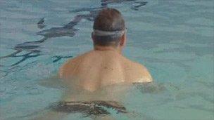 Harlech pool