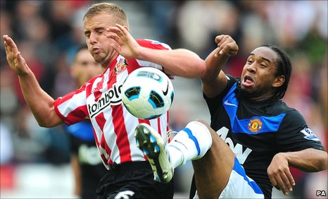 Lee Cattermole (left) and Anderson (right)