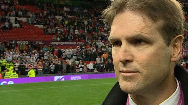 St Helens coach Mick Potter