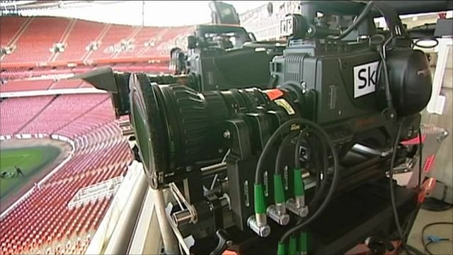 Sky TV camera