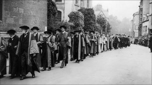 Oxford academics 1922