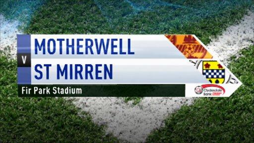 Highlights - Motherwell v St Mirren