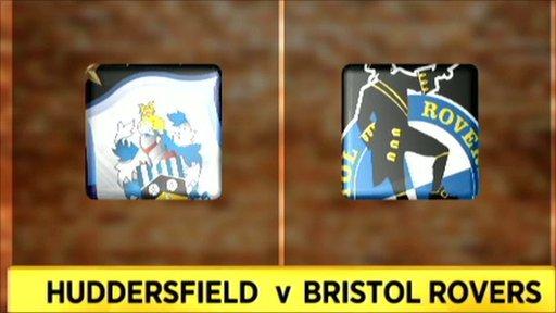 Huddersfield v Bristol Rovers