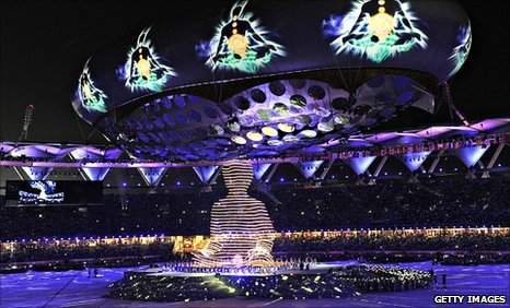 Opening ceremony of 2010 Commonwealth Games