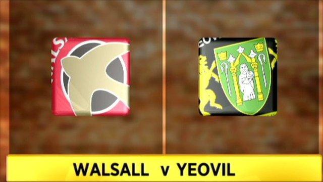 Walsall v Yeovil