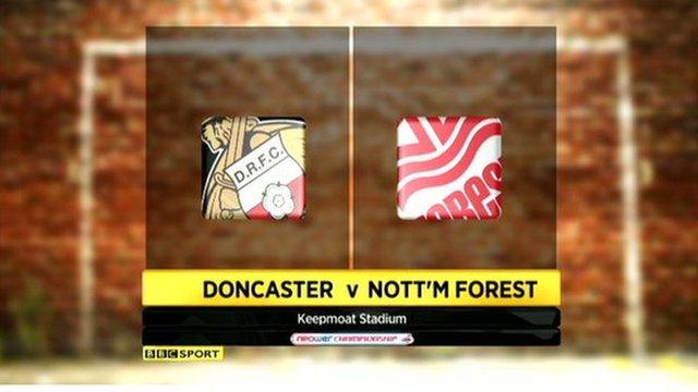 Doncaster Rovers v Notts Forest