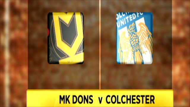 MK Dons 1-1 Colchester