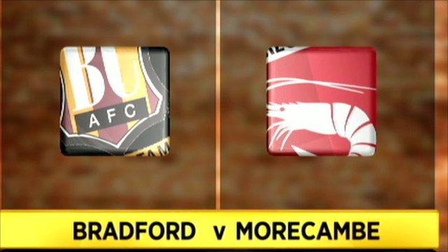 Bradford 0-1 Morecambe