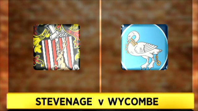 Stevenage v Wycombe