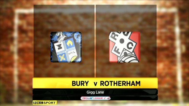 Bury v Rotherham