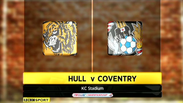 Hull v Coventry