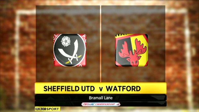 Sheff Utd v Watford