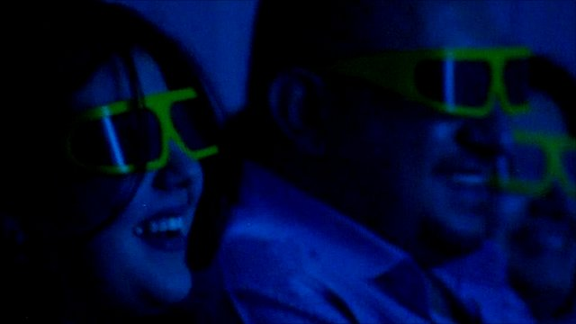 Iraqis at Baghdad's 4D cinema