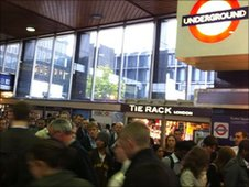 Commuters at Euston