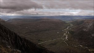 Devil's Point Cairngorms. Pic by Tern Television
