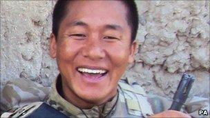 Rifleman Suraj Gurung