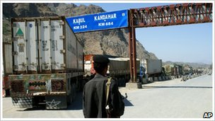 Border post at Khyber Pass